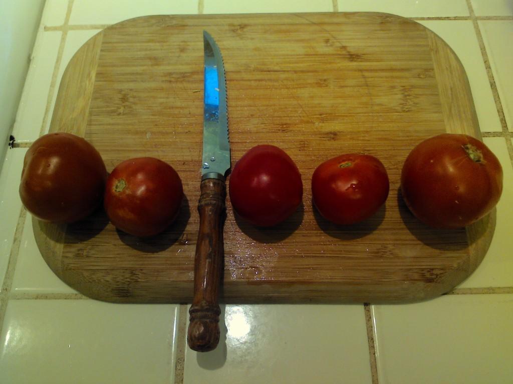 Tomato Caesura